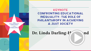 2020 Power of Giving Keynote: Confronting Educational Inequality: The Role of Philanthropy in Achieving a Just Society