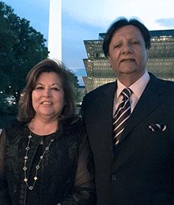 Shaista and Rafat Mahmood