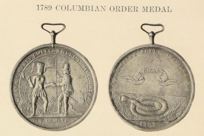 Tammany Society medal