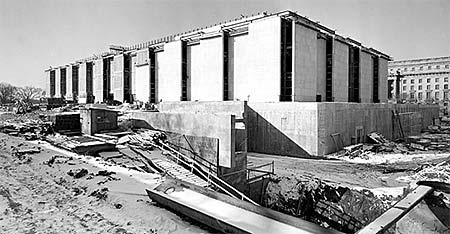 Museum under construction