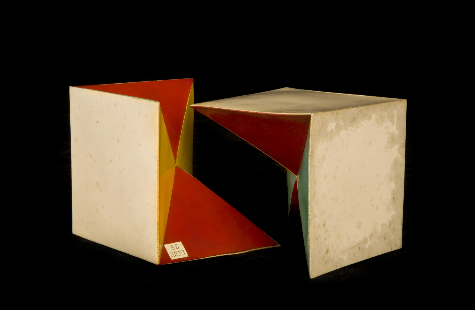 A Bisected Cube
