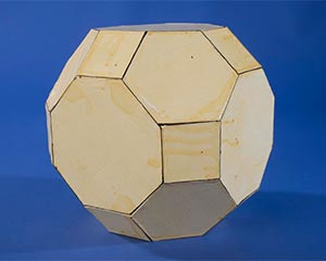 Models of regular-faced convex polyhedra