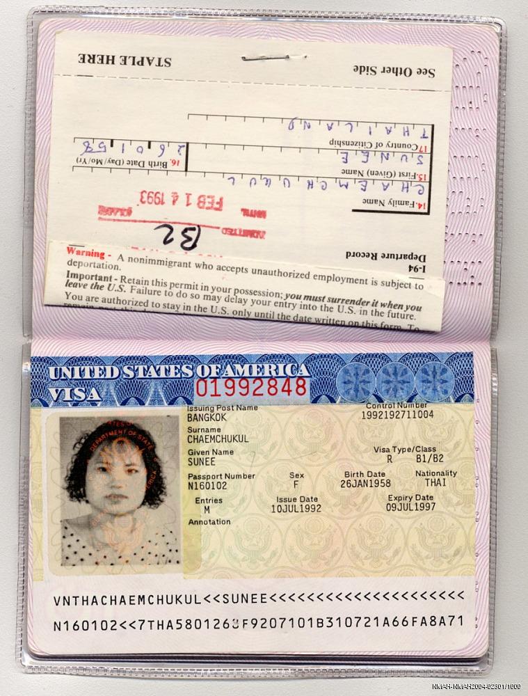 fake passport