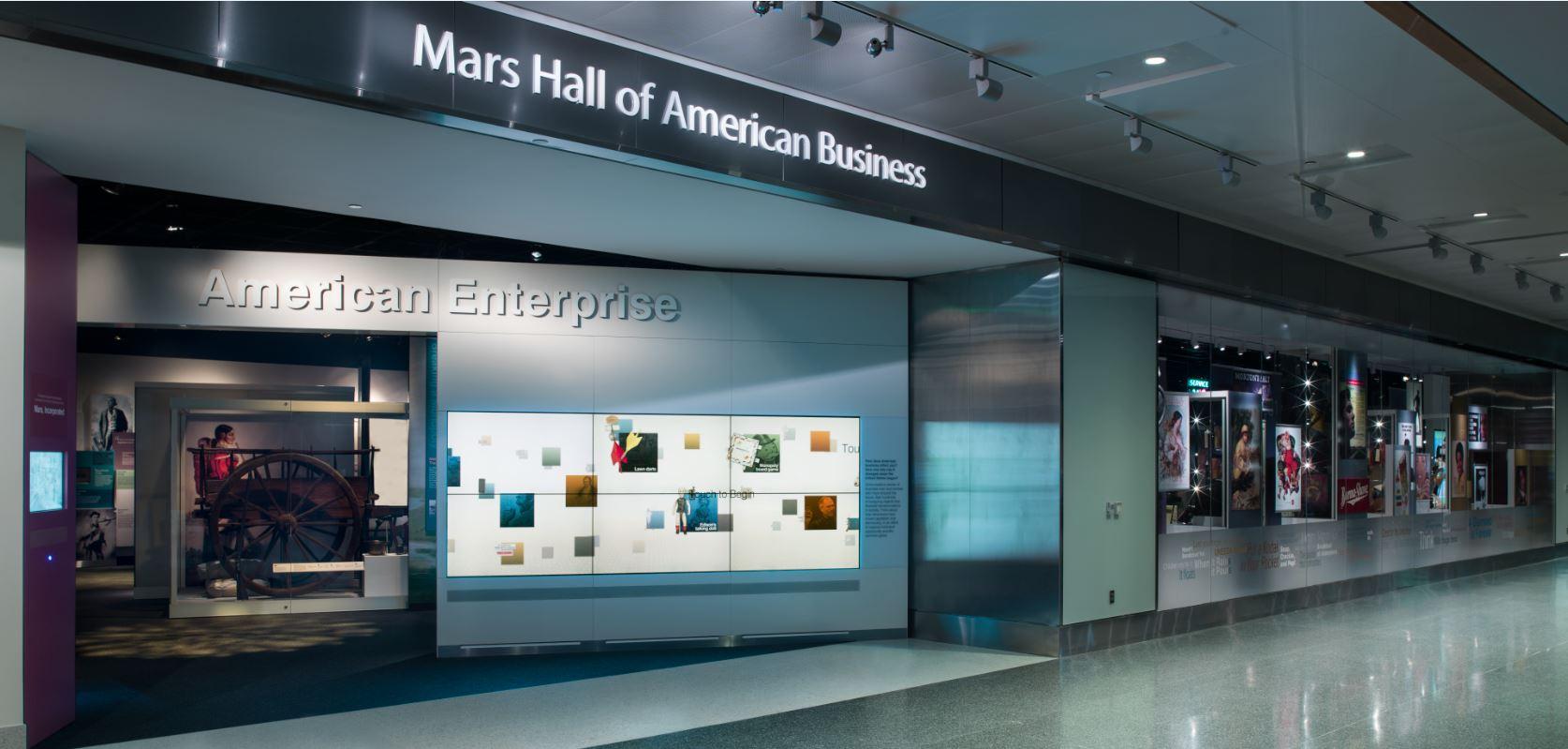 Entrance to American Enterprise