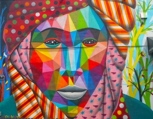 Murals, Winwood Walls, Miami, Florida, 2017