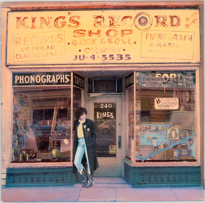 Album cover, 'King's Record Shop'