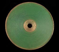 Early sound recording disk