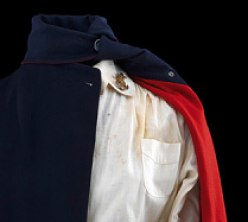 Shoulder of Navy Nurse Corps indoor uniform
