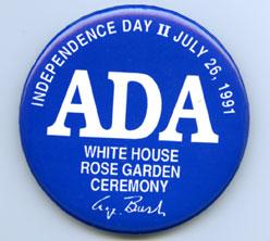 Americans with Disabilities Act pin