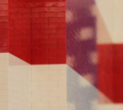 Lego flag (detail)