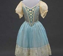 Ballet costume worn by Marianna Tcherkassky