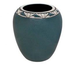 Ceramic pot featured in the exhibition