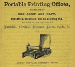 Civil War Field Printing