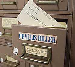 Phyllis Diller Gag File