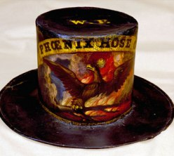 """""""Phoenix Hose Co"""" firefighter hat"""