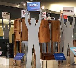 Photo of Hooray for Politics exhibit