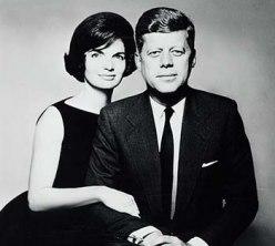 Photo of John F. and Jacqueline Kennedy, by Richard Avedon