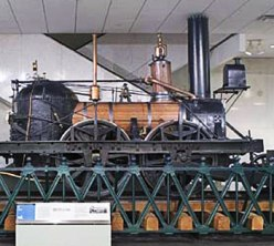 The John Bull locomotive