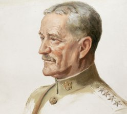 "John J. ""Black Jack"" Pershing portrait by Joseph Cummings Chase"