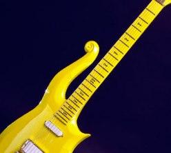 "Prince's ""Yellow Cloud"" electric guitar, 1989"