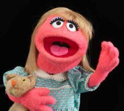 Prarie Dawn puppet from Puppetry in America
