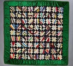 Silk parlor throw