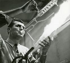 Glass blower
