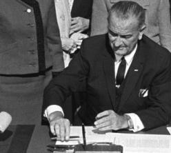Signing of the Hart-Celler Act