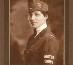 Mrs. Robert S. Alter, National League for Woman's Service, Motor Corps Division