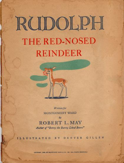 Original rudolph the red nosed reindeer lyrics