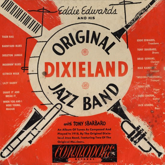 Original Dixieland Jazz Band album cover