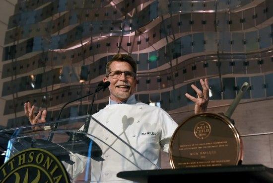 Rick Bayless with the Julia Child Award