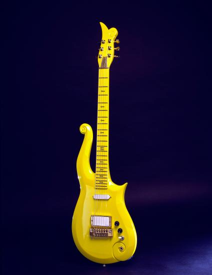 Yellow cloud guitar