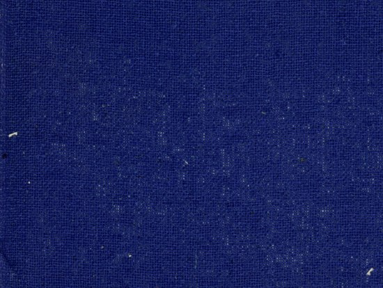 A magnified look at a piece of silk that has been dyed royal blue
