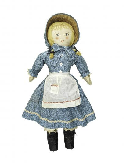 Photograph of Abigail doll.
