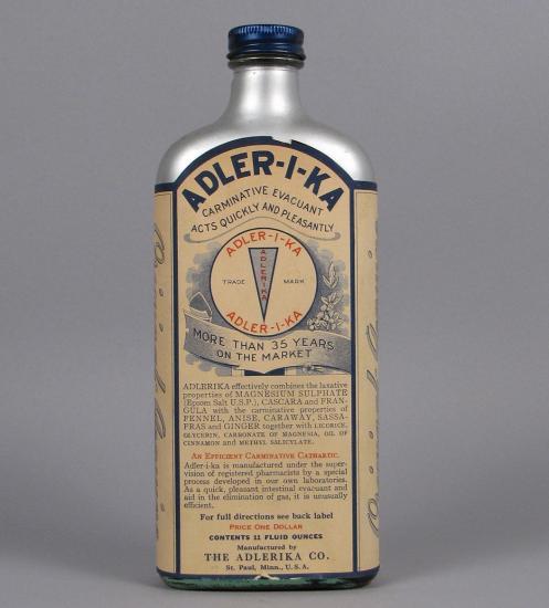 Ader-I-Ka bottle