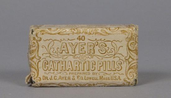 Box of Ayer's Cathartic Pills