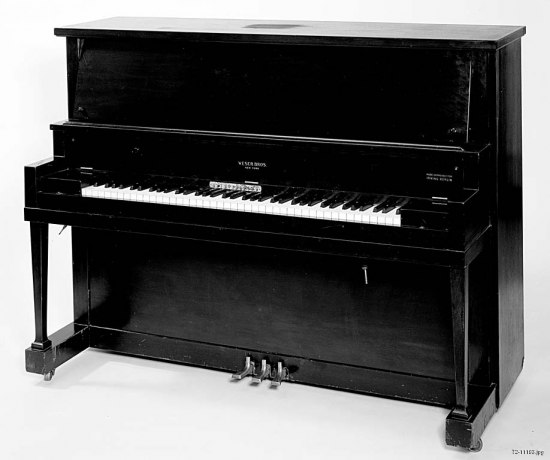 Photo of black piano