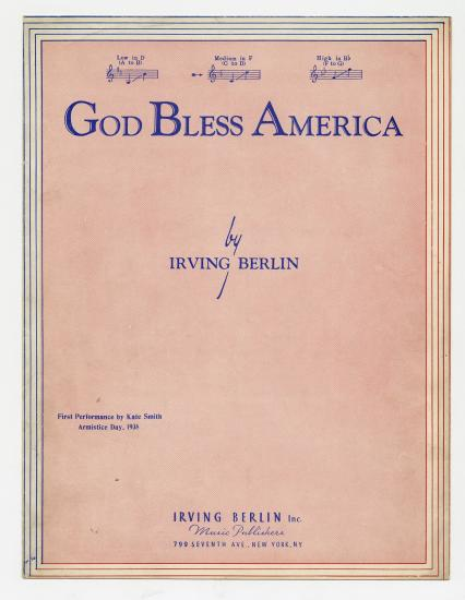 a review of irving berlins god bless america Irving berlins god bless america irving berlins god bless america songbook - title : volume 2 personal finance exam review study guide answers have fun fall in.