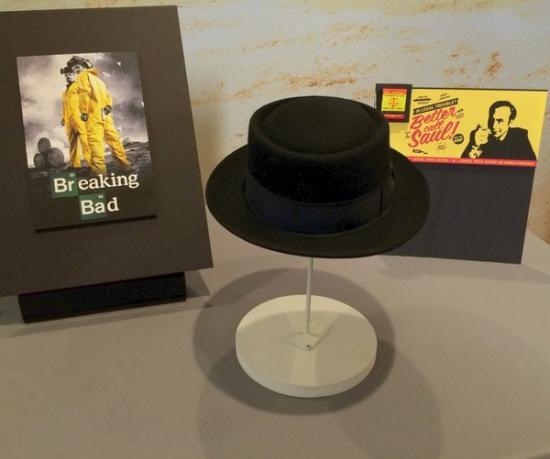 Photo of black bowler hat