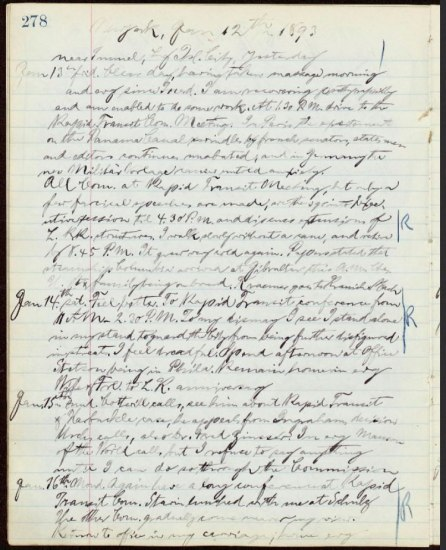 Cursive writing on a lined piece of paper. The paper is yellowed with age.