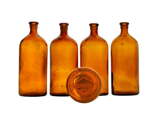 1930s Clorox bleach bottles