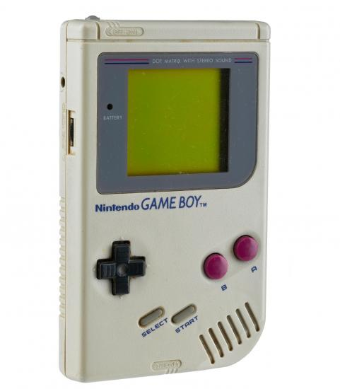 Game boy photograph