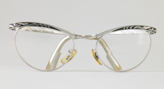 Harlequin-Shaped Glasses