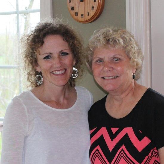 Carla Wardin and Cherie Anderson