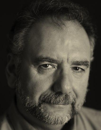 A man with facial hair.