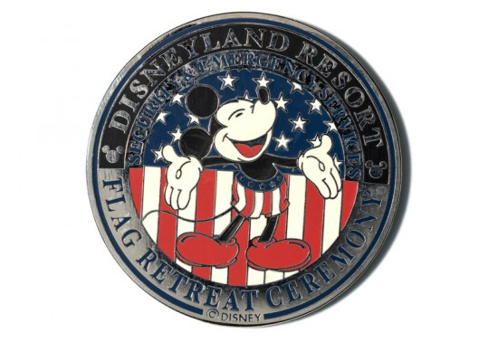 Challenge coin featuring Mickey Mouse