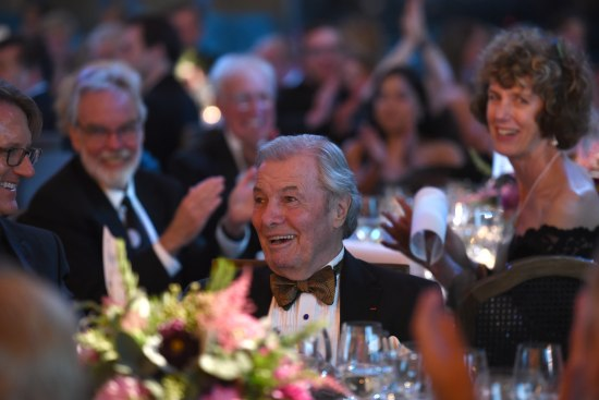 Jacques Pepin at the Gala