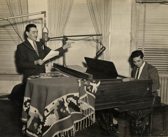 "Renowned Entertainer Leonardo ""Lalo"" Garcia Astol, 1950s"