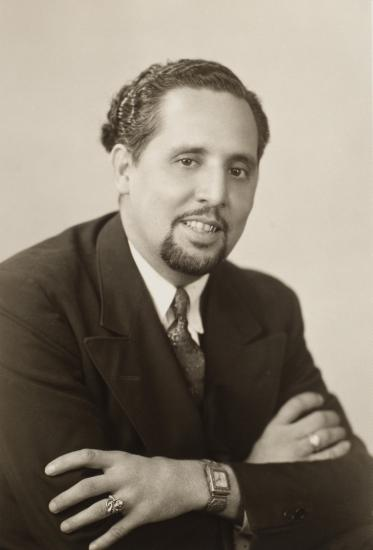 Photograph of Raoul A. Cortez, 1940s